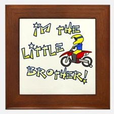moto_littlebrother Framed Tile