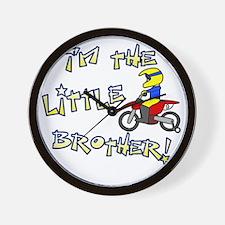 moto_littlebrother Wall Clock
