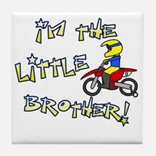 moto_littlebrother Tile Coaster