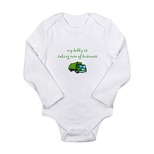 Taking Care of Business creeper Body Suit