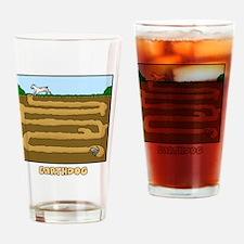 earthdog Drinking Glass
