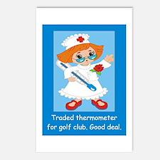 Cute Humorous nursing Postcards (Package of 8)