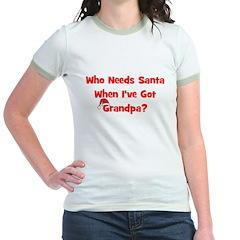 Who Needs Santa - hat Grandpa T