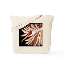 Love Cranes Love Birds Tote Bag