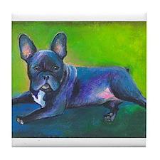 French Bulldog #3 Tile Coaster