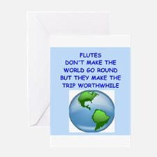 flutes Greeting Card