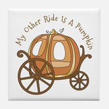 My Other Ride Tile Coaster