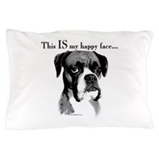Boxer Happy Face Pillow Case