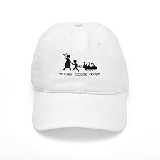 Mother Goose Design Baseball Cap