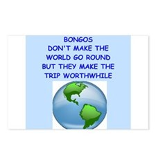 bongos Postcards (Package of 8)