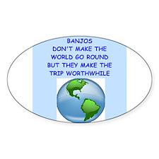 Banjo Decal