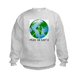 Kids earth day sweatshirts Crew Neck