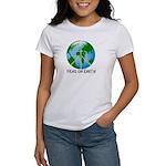 Peace Peas on Earth Christmas Women's T-Shirt