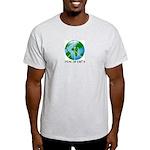 Peace Peas on Earth Christmas Light T-Shirt
