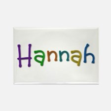 Hannah Play Clay Rectangle Magnet