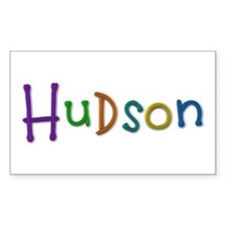 Hudson Play Clay Rectangle Decal