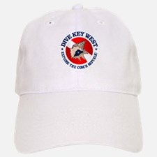 Dive Key West (rd) Baseball Baseball Baseball Cap