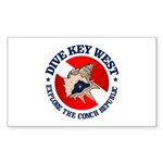 Dive Key West (rd) Sticker