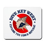 Dive Key West (rd) Mousepad