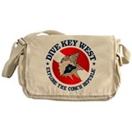 Dive Key West (rd) Messenger Bag