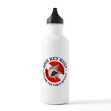 Dive Key West (rd) Water Bottle