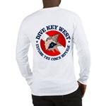 Dive Key West (rd) Long Sleeve T-Shirt