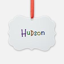 Hudson Play Clay Ornament