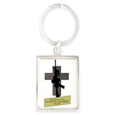 Defending our 1st 2nd Amendment Rights Keychains