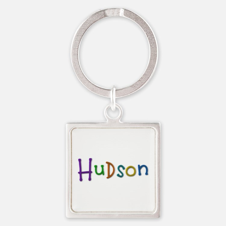 Hudson Play Clay Square Keychain