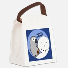 snowman_congo Canvas Lunch Bag