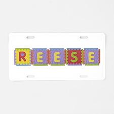 Reese Foam Squares Aluminum License Plate