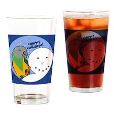 snowman_senegal Drinking Glass