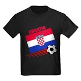 Croatian Kids T-shirts (Dark)