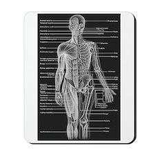 Human Anatomy Chart Mousepad