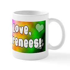 hippie_greatpyrenees Mug