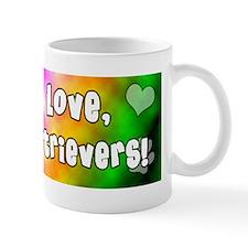 hippie_goldenretriever Mug