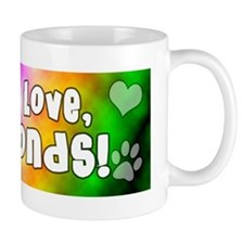 hippie_keeshond Mug