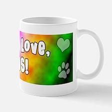 hippie_pug Mug