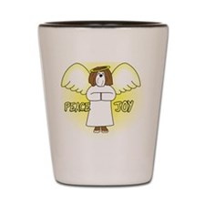 peacejoy_havanese_chocolate Shot Glass