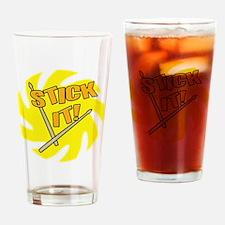 stickit Drinking Glass