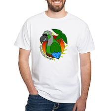 cartoon_greencheek_blk Shirt