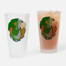 cartoon_quaker Drinking Glass