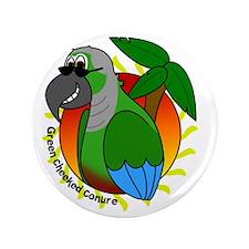 "cartoon_greencheek 3.5"" Button"