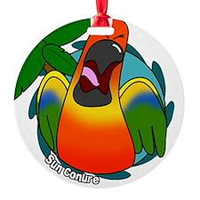 cartoon_sunconure Ornament