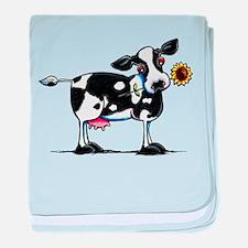 Sunny Cow baby blanket