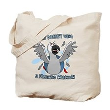 congo_polly_blk Tote Bag