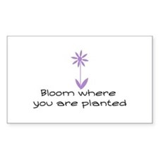 Bloom Decal
