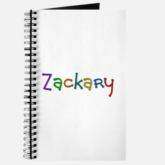 Zackary Play Clay Journal