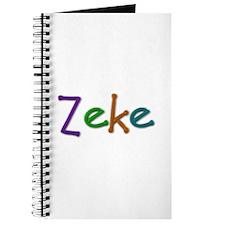 Zeke Play Clay Journal