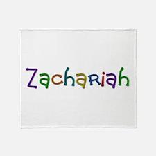Zachariah Play Clay Throw Blanket